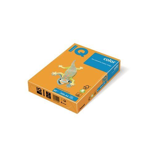 Fénymásolópapír színes IQ Color A/4 80 gr trend óarany AG10 500 ív/csomag
