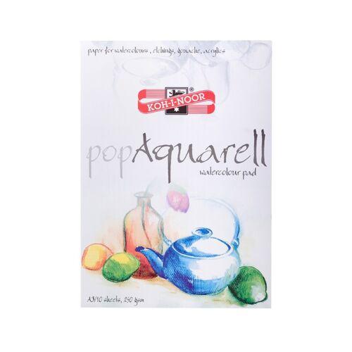 Vázlatfüzet KOH-I-NOOR Pop Aquarell A/3 speciális papírból 250gr 10 lapos