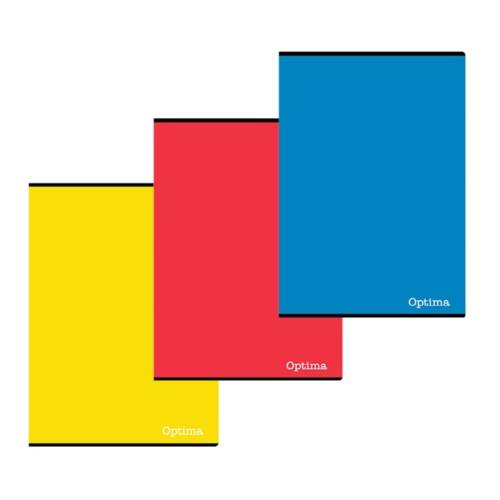 Jegyzetfüzet OPTIMA A/4 50 lapos kockás