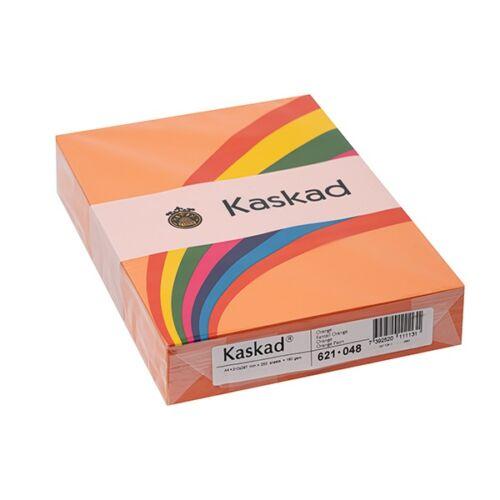 Fénymásolópapír színes KASKAD A/4 160 gr narancssárga 48 250 ív/csomag