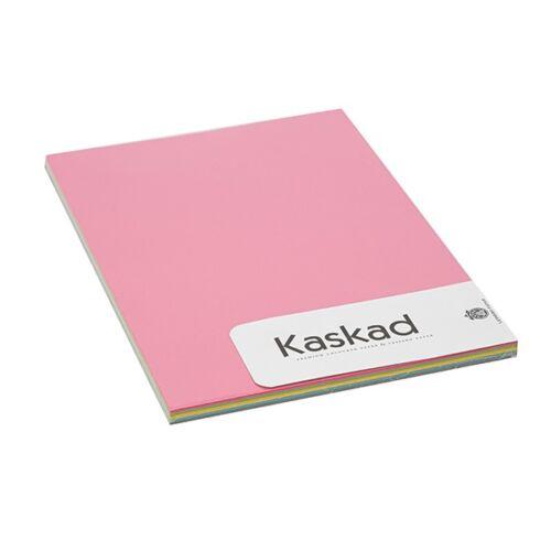 Fénymásolópapír színes KASKAD A/4 80 gr vegyes intenzív (22,56,64,66,94) 5X20 ív/csomag