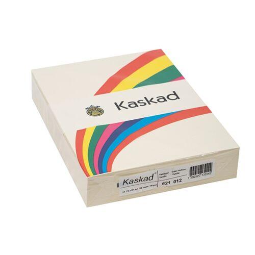 Fénymásolópapír színes KASKAD A/4 160 gr vanília 12 250 ív/csomag