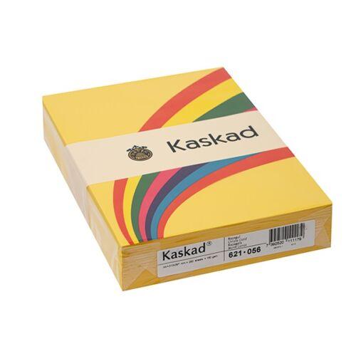 Fénymásolópapír színes KASKAD A/4 160 gr repce sárga 56 250 ív/csomag