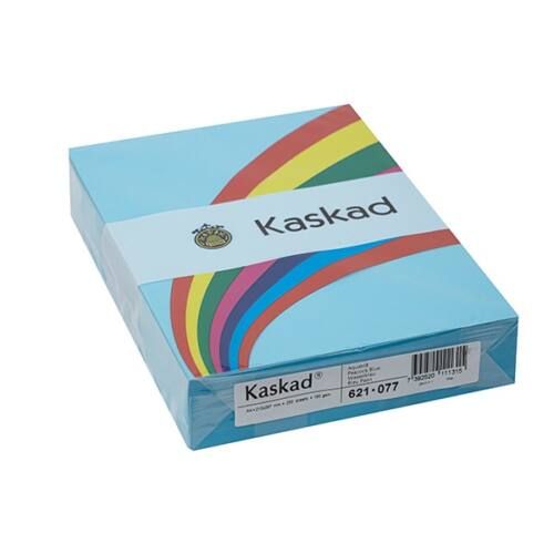 Fénymásolópapír színes KASKAD A/4 160 gr vízkék 77 250 ív/csomag