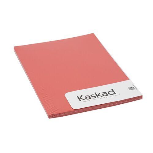 Fénymásolópapír színes KASKAD A/4 80 gr vörös 29 100 ív/csomag