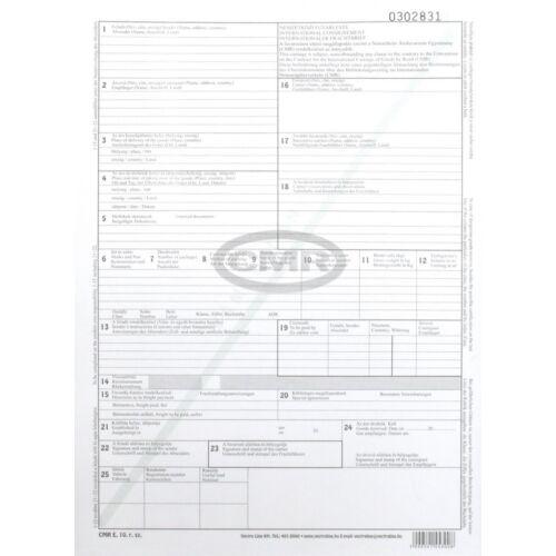 Nyomtatvány fuvarlevél CMR VECTRA-LINE 6 példányos